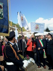 inaugurazione piazza francesco II scoprimento