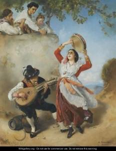 Romako_Street-Musicians