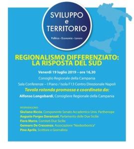 sviluppo e territorio regione campana 2019