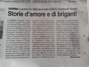 briganti articolo il roma