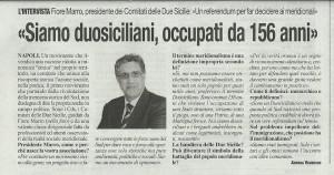fiore intervista al Roma cartaceo
