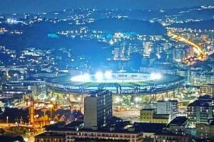 maradona stadio illuminato